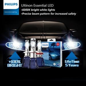 Image 2 - Philips farol de led ultinon essential, farol de led h7 12v 119uex2 6000k para carro, luz de led brilhante (twin pacote)