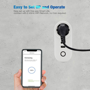 Image 4 - ACCKIP USB Socket Wifi Smart Plug Israel Wireless Power Smart Outlet Wi fi Remote Control Timer Tuya Smart Charger Alexa Google