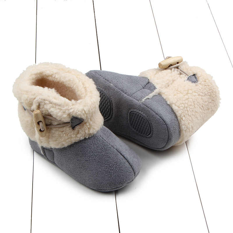 2019 חדש מזדמן אבזם פעוט ילדי שלג מגפי החלקה ילדים ילדה פרווה נעלי תינוק ילד לשמור על נעליים חמות מגפי חורף