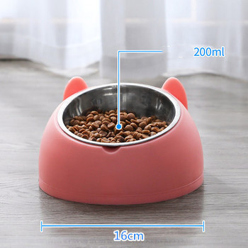 600ml Pet Dog Cat Automatic Feeder Bowl for Dogs Drinking Water Bottle Kitten Bowls Slow Food Feeding Container Supplies 8