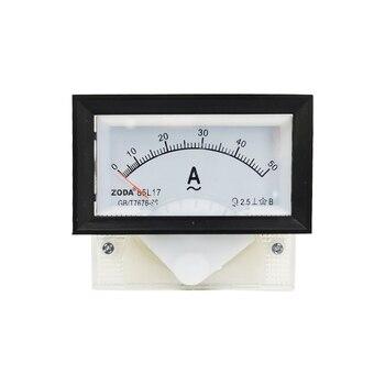 1PC 85L17-A 5A 30A 50A 100/5A 200/5A AC Analog Meter Panel Gauge AC AMP Current Meter Use with Transformer 70*40MM Amperimetros dp 816 2000 5a class 0 5 10va split core current transformer window type current transformer