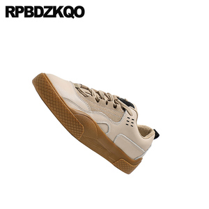 Image 2 - Fur Sneakers Elevator Lace Up Female 2019 Casual Thick Sole Platform Women Flats Creepers Designer Shoes China Muffin Trainers