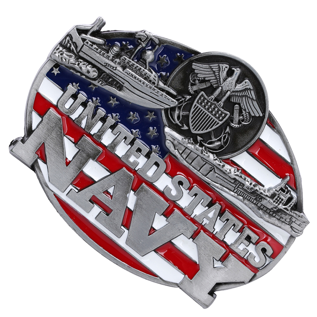 American Navy Belt Buckle For Men Western Cowboy Waist Strap Belt Ornaments  Holiday Gifts Hebillas Para Cinturones