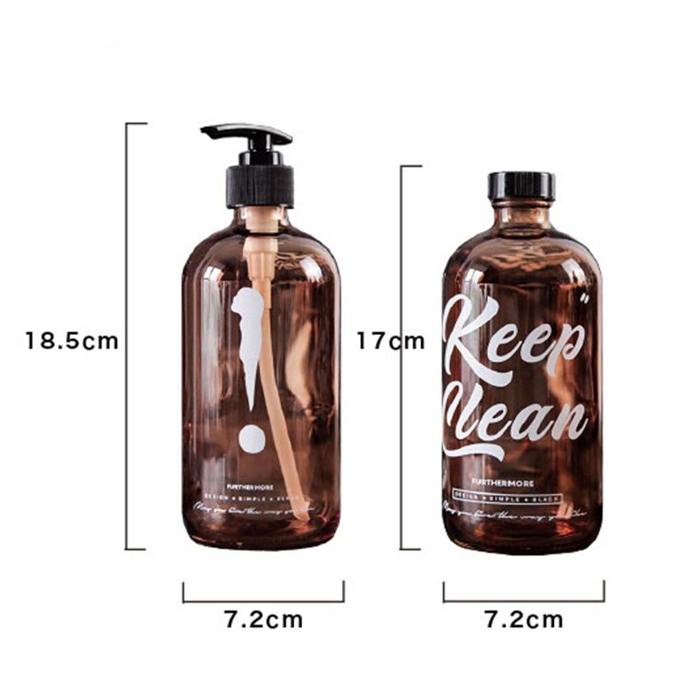 vazio dispensador sabão do banheiro para shampoo