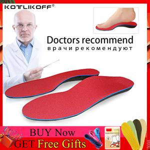 Image 1 - KOTLIKOFF Orthopedic Insoles Doctors recommend Best Material Orthotic Insole Flat Feet Arch Support Orthopedic Shoes Sole Pad