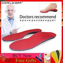 KOTLIKOFF تقويم العظام النعال الأطباء يوصي أفضل المواد نعل داخلي تقويمي أقدام مسطحة قوس دعم أحذية تقويم العظام وحيد وسادة