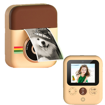 1080P Instant Print Camera For Kids HD Video Photo Digital Camera with 3 Rolls Thermal Photo Paper Child Camera 7
