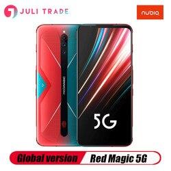 Смартфон Nubia Red Magic 5G, 12 Гб, 256 ГБ, Snapdragon 865, 144 Гц, экран 6,65 дюйма, Wi-Fi, 6 дюймов, 6,65 МП, 4500 дюйма, мАч, Amoled, Google Play