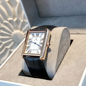 Image 2 - Offre spéciale relogio masculino luxe femmes/homme montre mode femmes reloj hombre robe montres décontracté rectangle en cuir amant montre