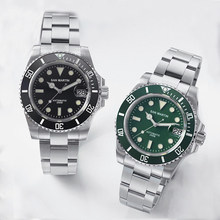 San Martin Men Vintage Automatic Watches Fashion Stainless S