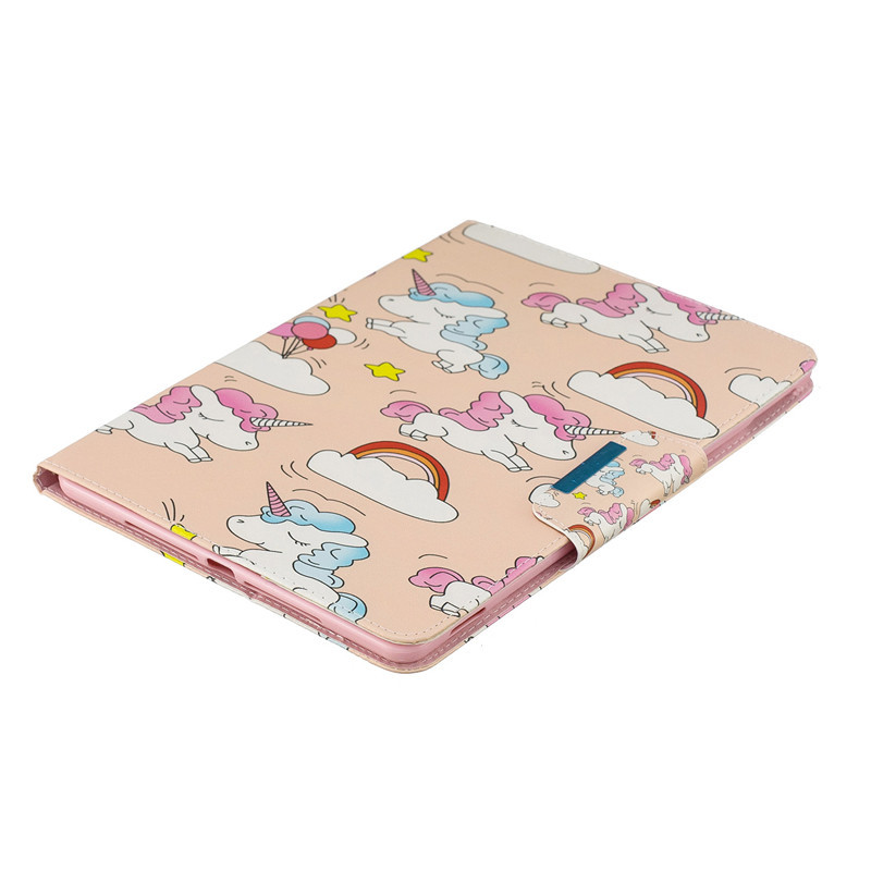 10.2 Cover iPad Wekays Leather 7th Cartoon 7th For Unicorn 2019 10.2