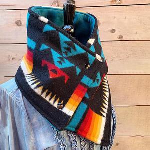 Женская модная накидка на пуговицах с этническим принтом на осень и зиму 2020, теплый шарф, шаль, аксессуары для одежды