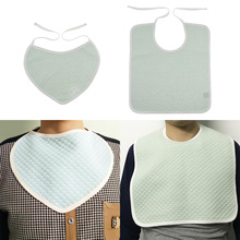Clothing Disability Elderly Adults Bib for Kids Children Patients People Protector Saliva-Towel