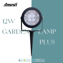 Gledopto Zigbee RGBWW Garden Lamp Smart 12W AC 110V 230V 220V RGBCCT Dimmable Landscape Path Outdoor Light Work with Zigbee Hub