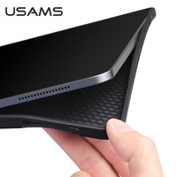 USAMS Back Case for iPad 2020 2019 2017 2018 Air1 Air2 Pro 10.5 Air3 Air 2020 Pro 2020 Full Cover For iPad 9.7 10.5 10.2 12.9 11 inch