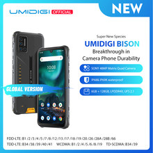UMIDIGI BISON IP68/IP69K telefono robusto impermeabile 48MP Matrix Quad Camera 6.3