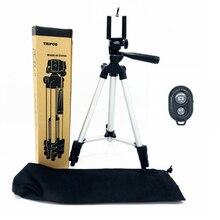 Tripé universal para celular de 35 106cm, presilha para suporte ajustável para celular e iphone x xs câmera remota bluetooth,