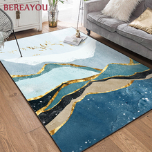 Nordic Area Rugs Art deco Abstract Rectangle Carpet From Home Living room Bedroom Floor Carpet Kitchen Rug tapis chambre enfant