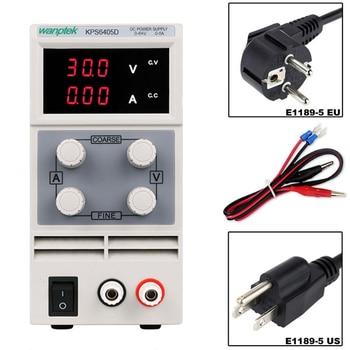 Wanptek KPS1505D 3010D series 3-digit DC Lab switching DC Power Supply 15V 30V 60V 120V 3A 5A 10A AC115V-230V  Adjustable