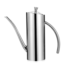 YIBO 500ML Edible Oil Pot Stainless Steel Vinegar Dispenser Sauce Olive Bottle Kitchen Storage Supplies