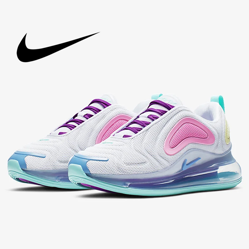 US $75.76 32% OFF|Original Authentic Nike Air Max 720 Women's Running Shoe Sneakers Outdoor Sports Athletic Designer Footwear 2019 New AR9293 102 in