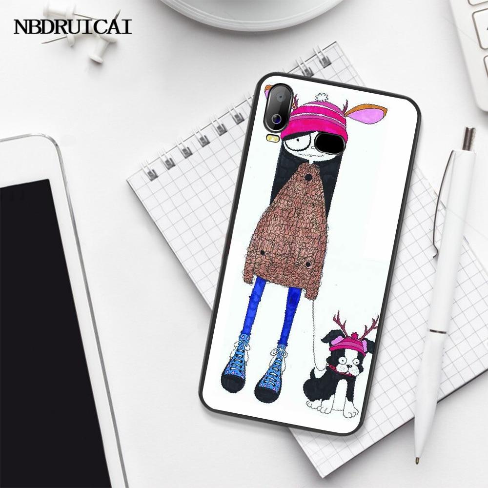 NBDRUICAI Marc Jacobs müşteri için yüksek kalite telefon kılıfı Samsung A10 A20 A30 A40 A50 A70 A71 A51 a6 A8 2018