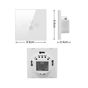 Image 5 - AVATTO Smart Wifi Fan Light Switch,EU/US Ceiling Fan Lamp Switch Tuya Remote Various Speed Control Work with Alexa, Google Home