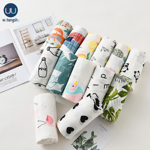 Image 2 - Muslin Baby Blankets Swaddles Newborn Photography Accessories Soft Swaddle Wrap Organic Cotton Baby Bedding Bath Towel Swaddle