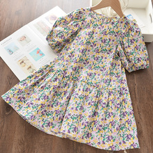 Kids Girls Dress 2020 Children European And American Style Printing Children's Clothing  Casual Summer  Outfits цена 2017