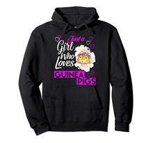 Śliczna tylko dziewczyna która kocha świnki morskie pulower z kapturem tanie tanio LENGDANU Pełna REGULAR Na co dzień Polar NONE Brak Drukuj COTTON Poliester