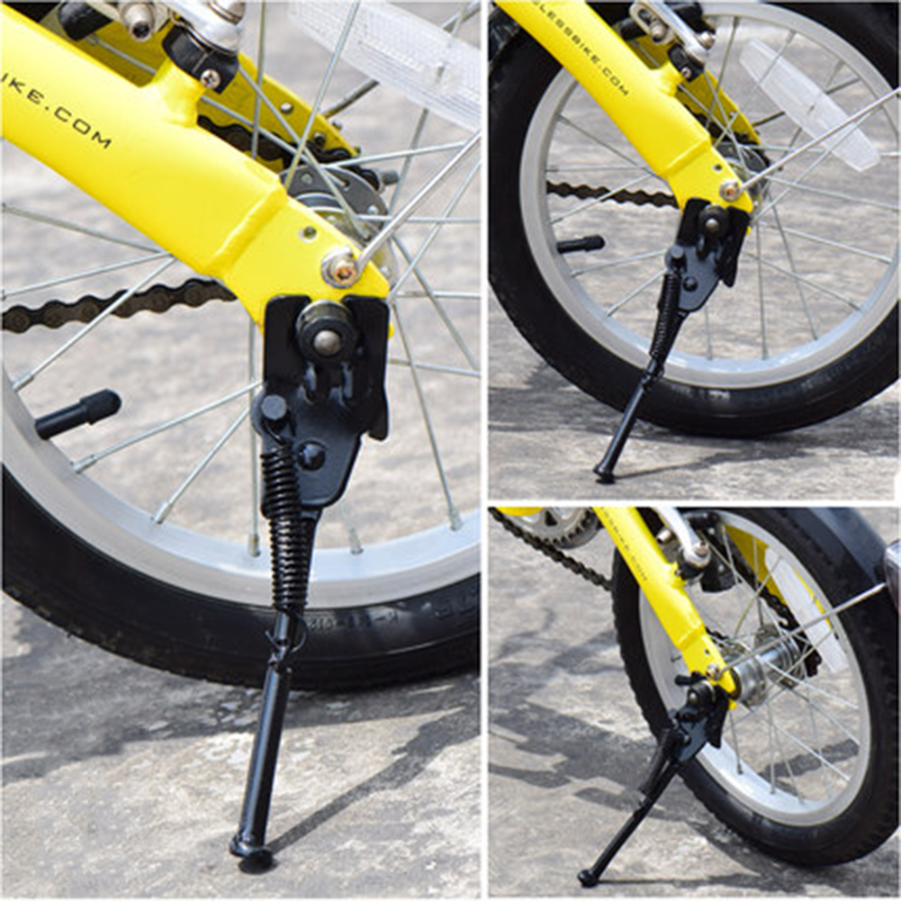 1pc Adjustable MTB Road Bicycle Kickstand Parking Rack Support Side Kick Stand Foot Brace Cycling Parts 34cm Bike Holder