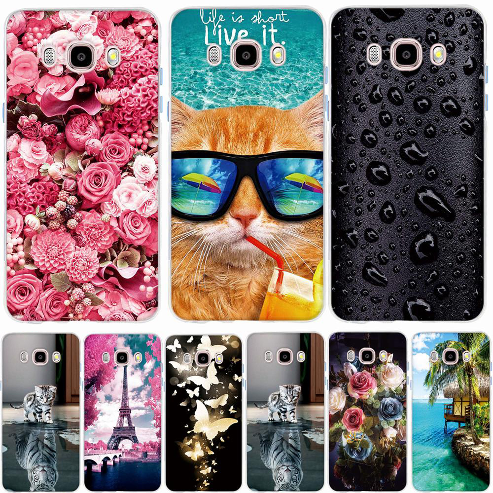 Case for Samsung J5 2016 Case Case Pattern Cover Samsung Galaxy J5 2016 Cover 3D TPU Soft Silicone for Samsung Galaxy J5 J510F