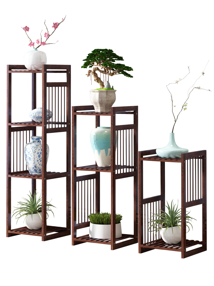 New Style Flower Rack Indoor A Living Room Northern Europe Balcony Shelf Green Luo Pylons Landing Type Meaty Flowerpot Frame