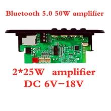 Amplifier Mp3-Player-Decoder-Board Radio-Module Bluetooth FM Support Aruimei 12V Car
