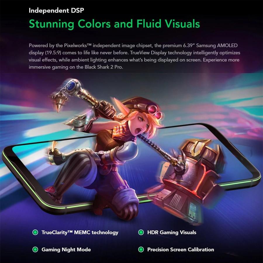 Global Version Xiaomi Black Shark 2 Pro Gaming Phone 6.39