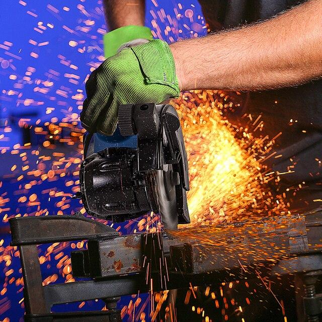 1050W Electric Circular Saw Fast Cutting Wood Metal Marble Tiles,230V Mini Electric Saw Dual Blade Metal Cutting Machine 6