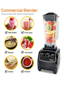Professional Blender Mixer Blade-Juicer Food-Processor Ice-Smoothie-Machine Bpa-Free
