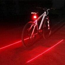 5 luces LED para bicicleta 2 luces traseras para bicicleta, luces traseras para bicicleta de montaña, lámpara para accesorios de bicicleta, gran oferta # ND