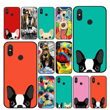 cute cartoon dog TPU Phone cases for Xiaomi Redmi GO 4 5 6 7 Pro 4A 4X 5A 5Plus 6A Back cover(China)