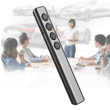 Laser Pens 2.4GHz Wireless Presenter PPT Teaching Remote Control Pointer Pen for Windows poderosa caneta ponto laser militar