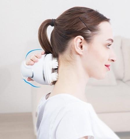 a prova dwaterproof agua eletrica cabeca massagem sem fio couro cabeludo massageador evitar perda de