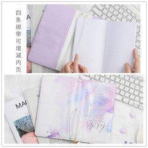 Image 5 - Lovedoki Leather Cover Traveler S Notebook Journal Planner Organisator Rooster Papier Student Schoolbenodigdheden Briefpapier Winkel