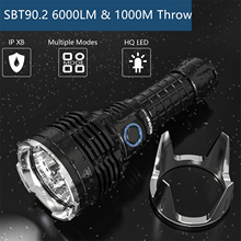 Wurkkos TS30S 21700 Rechargeable LED USB-C Tactical Flashlight SBT90.2 6000lm Extra Stainless Bezel Anduril Version Hiking Lamp