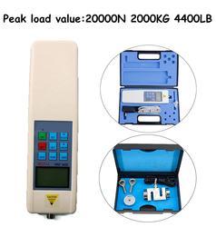HF-20K Digitale Rollenbank Push Pull Tester Met Digitale Elektrische Motor Rollenbank N/Kg/Lb 0-20KN RS232 Externe Sensor