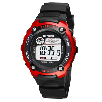 PANARS Classic Style Electronic Watch Kids Boys Children's Digitally Waterproof Sports With Luminous Alarm Clock - discount item  25% OFF Men's Watches