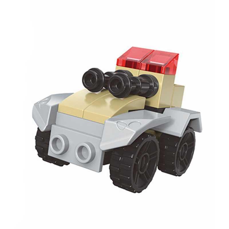 Legoing técnica peças detalhes carro série polícia arma carros tanque brinquedo para crianças presente cidade blocos de construção tijolos para legoings