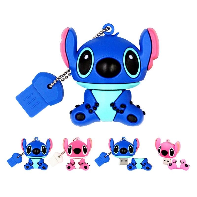 Cartoon Doll Usb Flash Drive 4GB 8GB 16GB 32GB 64GB 128GB Pendrive Memory Stick Flash Usb Pen Drive External Storage Twins