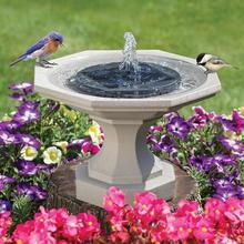 Плавающий фонтан на солнечной батарее, декоративный инструмент для украшения дома, сада, пруда, 1 шт.