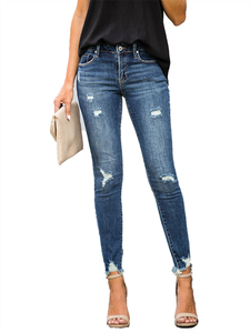 SRipped Jeans Pencil-...