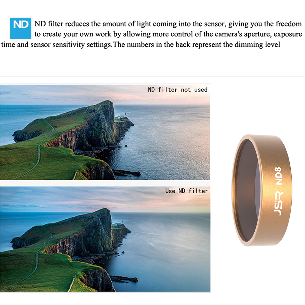 SERIES 5.5 NEUTRAL DENSITY FILTER 8X WITH ORIGINAL BOX